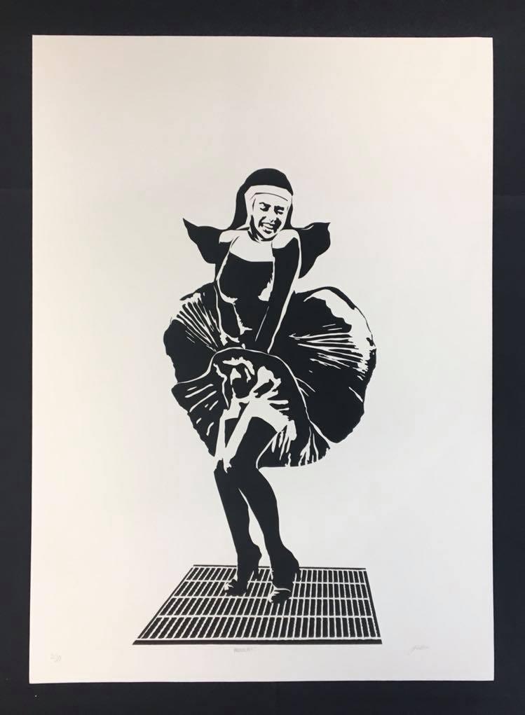 Nunsense! 50 x 70 (trykk) | 1900,-